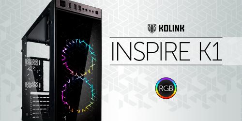 Koslink Inspire K1: Günstiges Gehäuse mit RGB-Beleuchtung