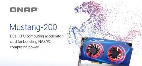QNAP Mustang-200: Computing-Beschleunigungskarte mit 10GbE-Netzwerkanschluss