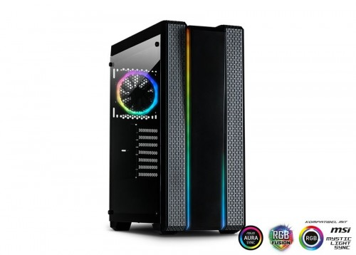 Inter-Tech M-908 Infinity Mirror - neue Version mit RGB-Mainboard-Anschluss