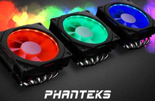 Phanteks PH-TC12LS: Top-Blow-Kühler mit RGB-Lüfterrahmen