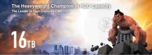 Bild: Toshiba MG08-Serie: HDDs mit bis zu 16 Terabyte Speicherplatz