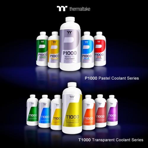 Thermaltake stellt neue Farbzusätze für Wasserkühlungen vor