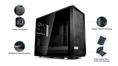 Fractal Design: Meshify S2 Black mit modular und offenem Design