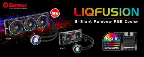 Bild: Enermax Liqfusion 360: Leistungsstarke AiO-Wasserkühlungen mit RGB-LEDs