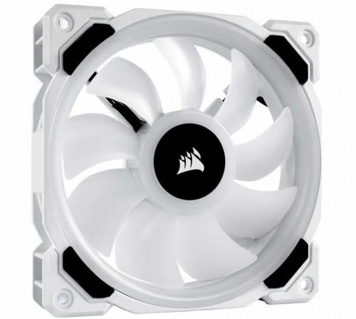 Corsair LL120 RGB White: RGB-Lüfter mit einem weißen Gehäuse