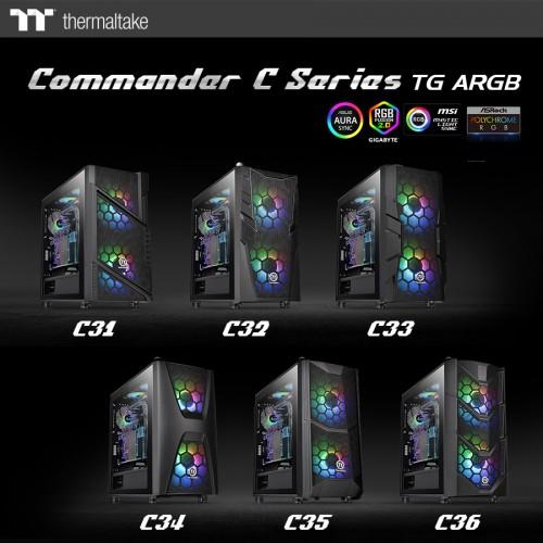 Thermaltake Commander-C-Serie: Gehäuse mit unterschiedlichen Fronten