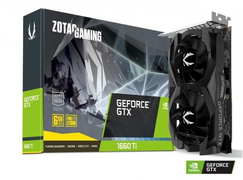 Bild: Zotac zeigt zwei Grafikkarten der GeForce GTX 1660 Ti