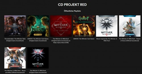 The Witcher 3: Soundtrack jetzt bei Spotify