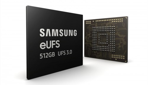 eUFS 512GB UFS 3.0