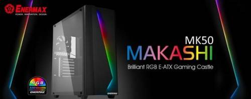 Bild: Enermax Makashi MK50: Neues Gehäuse für E-ATX-Mainboards