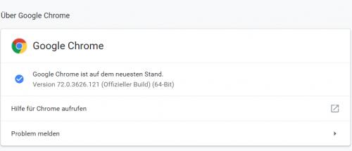 Chrome-Browser mit schwerwiegender Sicherheitslücke - Update empfohlen