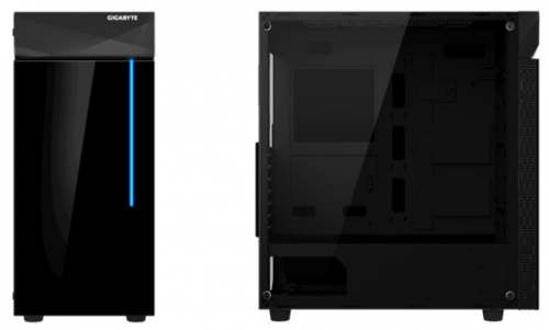 Gigabyte C200 Glass: Gehäuse mit integrierter RGB-Beleuchtung