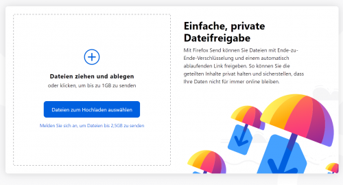 Screenshot 2019 03 13 Firefox Send