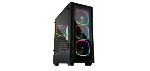 Enermax StarryFort SF30: Gehäuse mit vier SquA RGB Lüftern