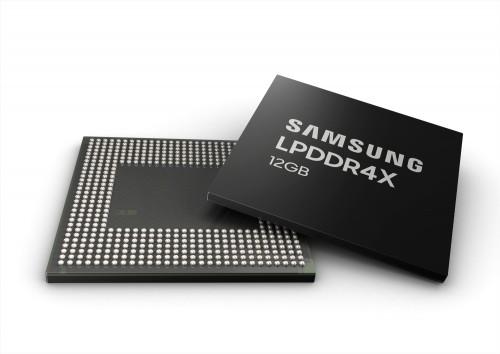 Samsung präsentiert LPDDR4X-Speicher mit 12 Gigabyte
