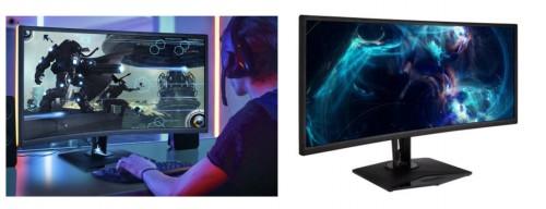 ViewSonic Elite XG350R-C: Gekrümmter 35 Zoll großer Gaming-Monitor