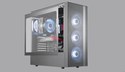 Bild: Cooler Master: MasterBox NR400 und NR600