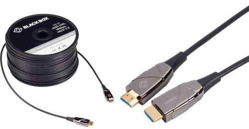 BlackBox: Optisches HDMI-Kabel mit bis zu 100 Metern Länge