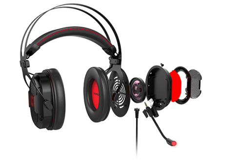Lioncast LX60: Gaming-Headset mit 7.1-Surround-Sound und selbstanpassendem Kopfbügel