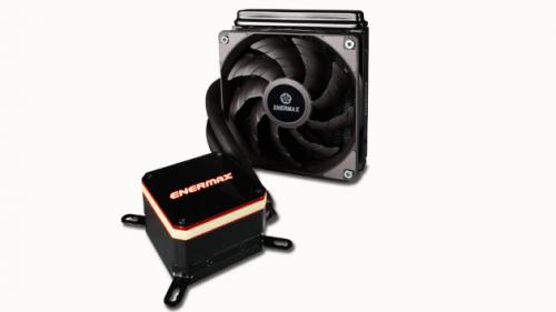Bild: Enermax Liqmax III: All-in-One-Wasserkühlung mit beleuchtetem CPU-Kühler