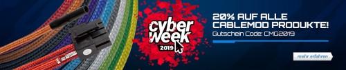 Bild: Cyberweek: Seasonic Focus+ Gold für 50 Euro und weiters im Angebot