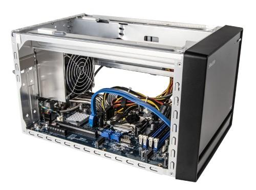 Shuttle SJ370R8: Kompakt-PC für leistungsstarke Dual-Slot-Grafikkarten
