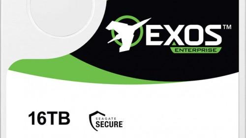 Seagate Exos-X16-Serie: Erste 16-TB-Festplatten ohne HAMR