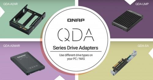 QNAP stellt neue Adapter für NAS-Geräte vor