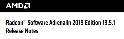 Screenshot 2019 05 14 Radeon™ Software Adrenalin 2019 Edition 19 5 1 Release Notes AMD