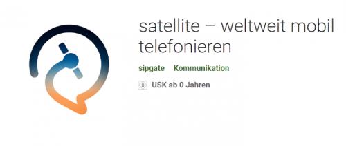 Screenshot 2019 05 24 satellite – weltweit mobil telefonieren – Apps bei Google Play