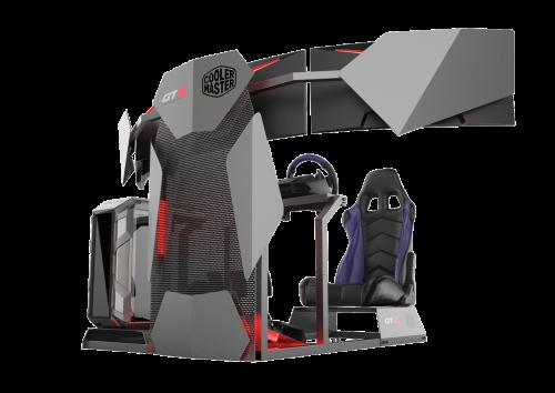 Cooler Master und GTR Simulator: Ein Rennsimulator für Zuhause