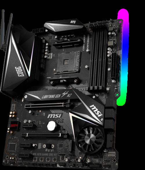 MSI X570: AM4-Mainboards der nächsten Generation mit PCIe 4.0