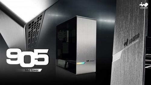 InWin 905: Midi-Tower mit adressierbarer RGB-Beleuchtung oder OLED-Displa