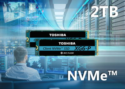 Toshiba XG6-P-SSD: NVMe-SSD-Serie mit bis zu 2 TB Speicherplatz