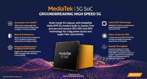 MediaTek 5G Soc Infographic 575px