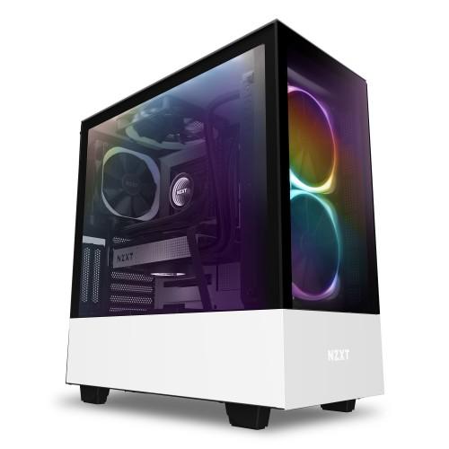 Bild: NZXT H510 Elite: Premium-ATX-Gehäuse HUE 2 Beleuchtungssystem