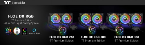 Thermaltake Floe DX RGB Series TT Premium Edition 1