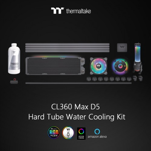 Thermaltake Pacific CL360 Max D5 Hard Tube Water Cooling Kit 1