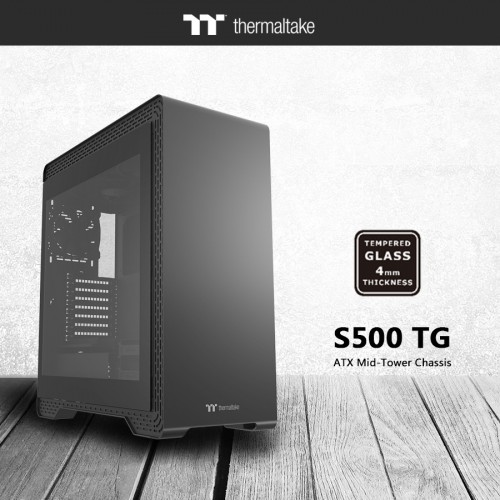 Thermaltake Introduces S Series Steel Tempered Glass Edition Chassis 1