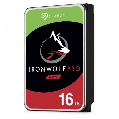 Seagate IronWolf Pro 3.5 16TB Hero Left Hi Res