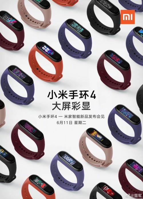 Xiaomi: Das neue Mi Band 4 mit Farbdisplay
