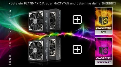 Enermax Enerbox: Lootbox-Aktion mit viel Zubehör