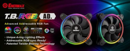 Enermax präsentiert neue Lüfter: T.B. RGB AD.