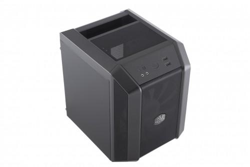 Bild: Cooler Master MasterCase H100: Das besonders kompakte Würfel-Gehäuse