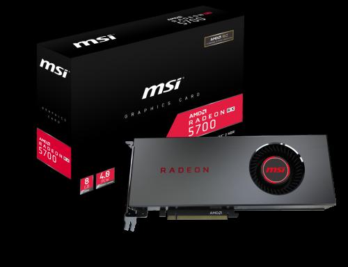 Bild: MSI stellt Radeon RX 5700 Serie im Referenzdesign vor