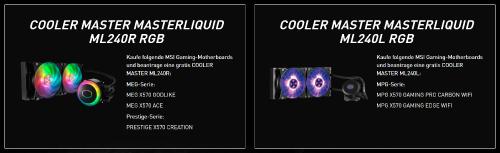 MSI: Wasserkühlung kostenlos beim Kauf eines X570 Mainboards