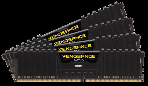 Bild: Corsair Vengeance LPX DDR4: Neue Module mit 32 GB Speicher angekündigt