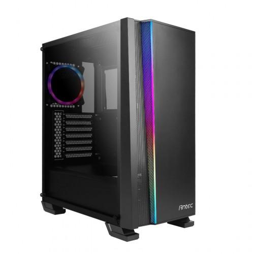 Bild: Antec NX500 und NX600: Günstige Gehäuse mit viel RGB-Beleuchtung
