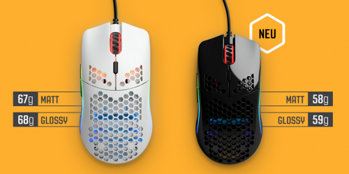 Glorious Model O: Gaming-Maus mit nur 58 Gramm Gewicht