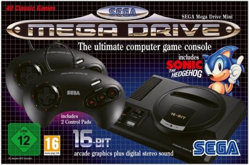 Sega Mega Drive Mini Packung